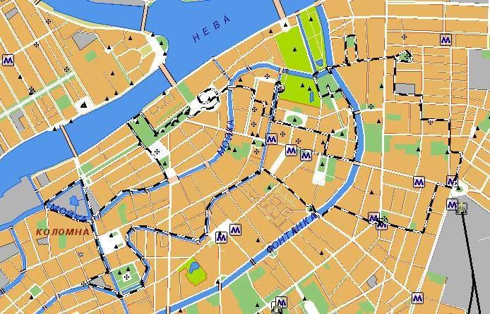 проложить маршрут карта